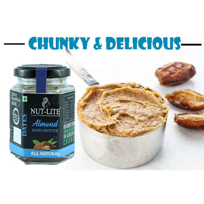 Tone it up with healthy NUT-LITE Almond Dates Butter