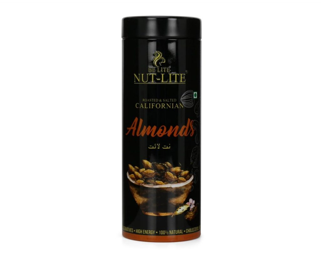 Californian Roasted and Salted Almonds - Nutlite