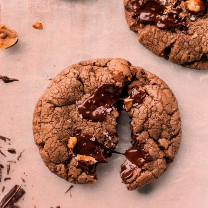 Hazelnut Milk Choco Butter Cookies